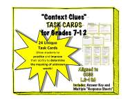"""Strengthen your students """"context clues"""" skills!"""